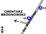Zespół przystankowy Cmentarz Bródnowski