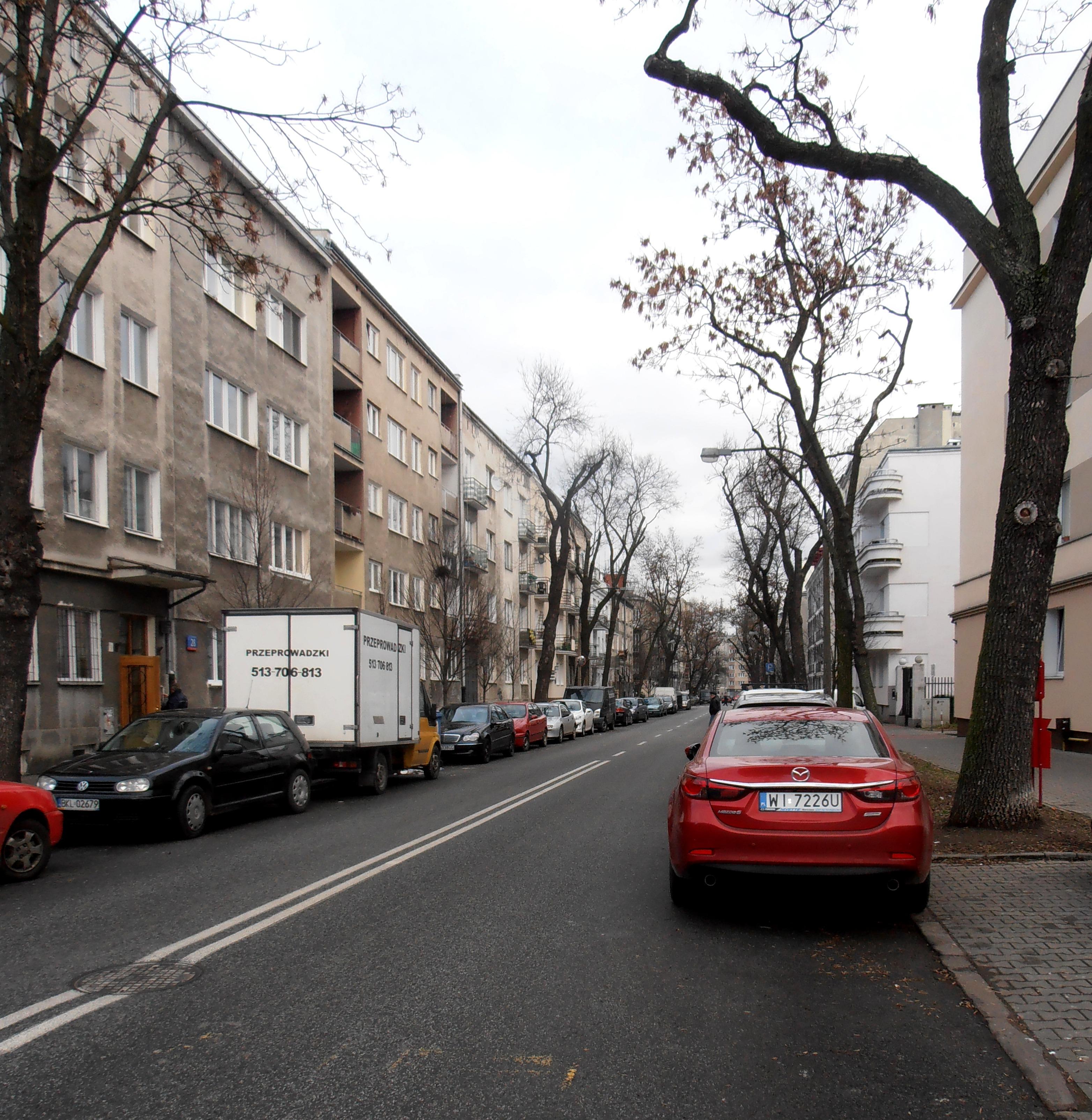 Ulica Jarosława Dąbrowskiego