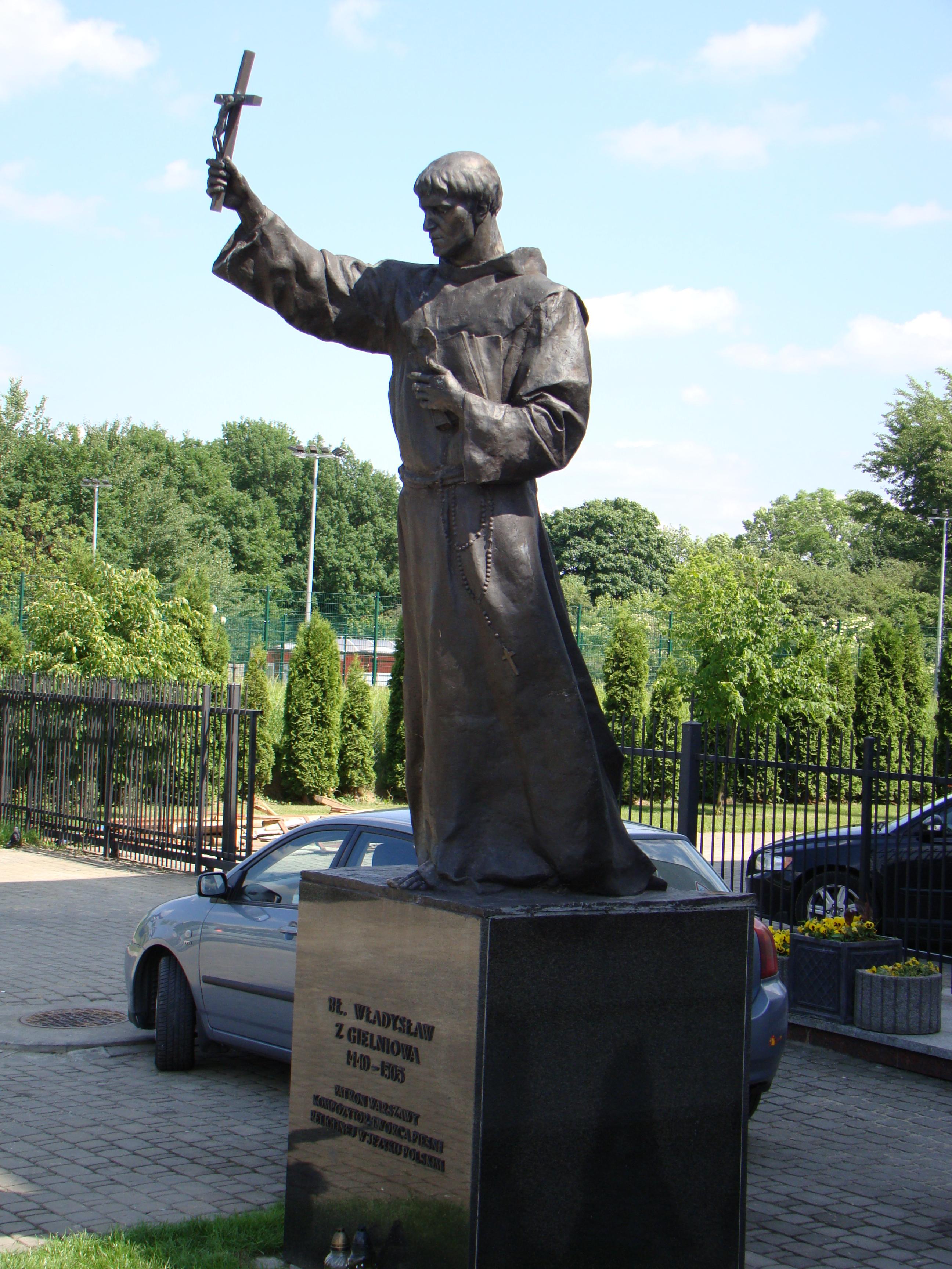 Pomnik bł. Władysława z Gielniowa