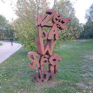Rzeźba przy Parku