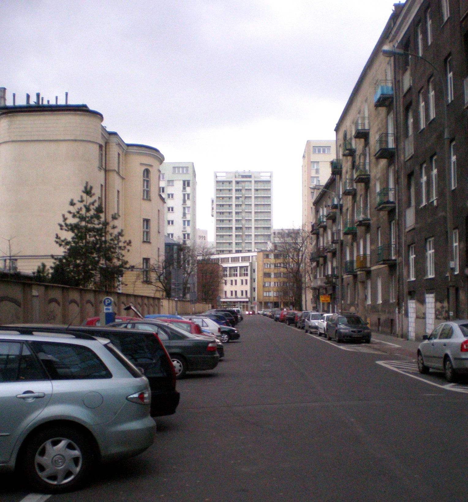 Ulica Śliska w Śródmieściu i na Woli