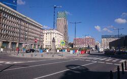 Plac Powstańców Warszawy widok na plac.jpg