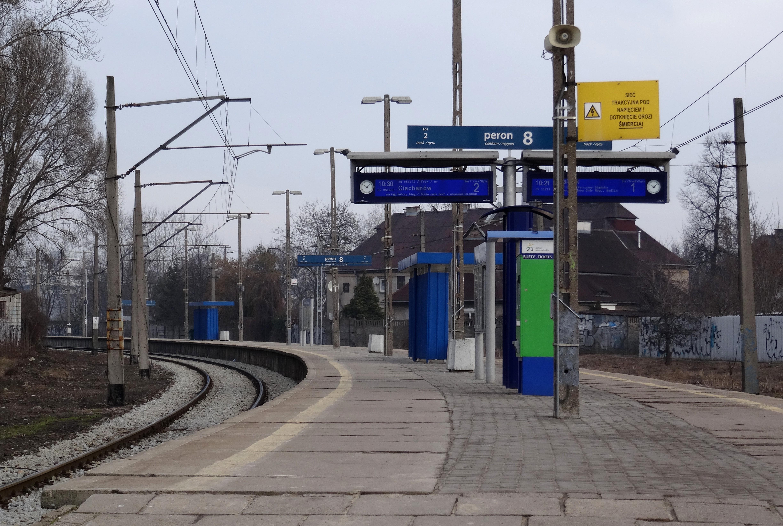 Warszawa Zachodnia Peron 8