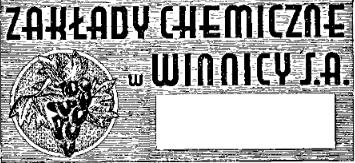 Zakłady Chemiczne w Winnicy
