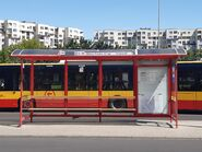 Przystanek Metro Trocka 07 (2020)