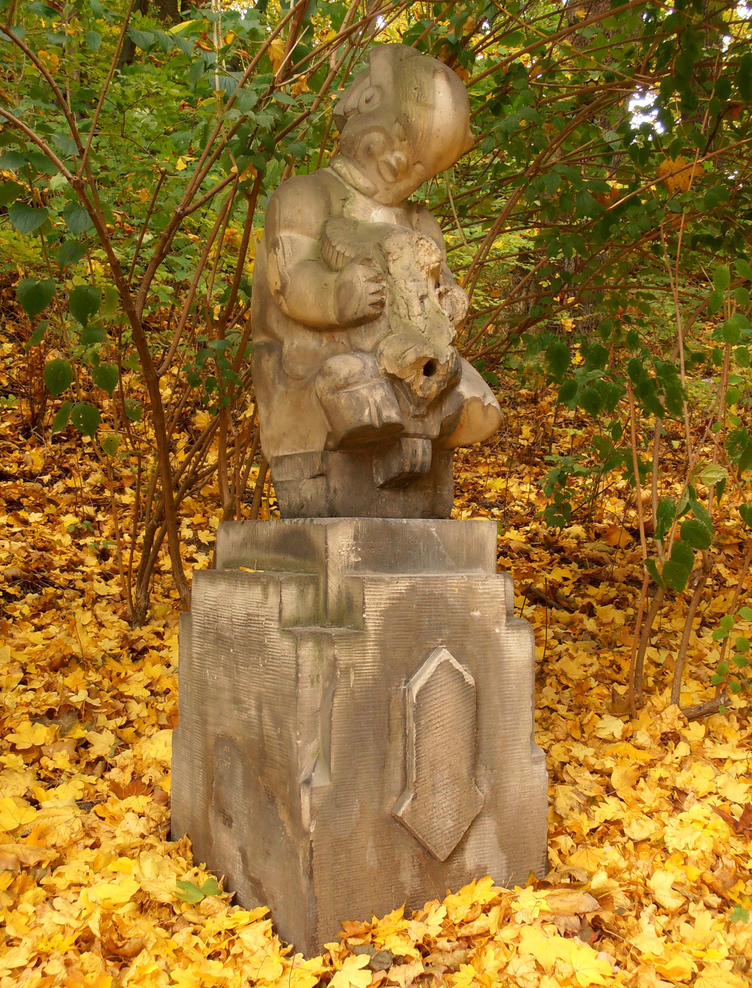 Rzeźba Zdrój