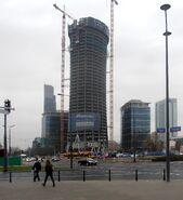 Warsaw Spire (Towarowa, budowa)