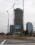 Warsaw Spire budowa (2)