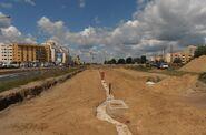 Światowida (budowa torów tramwajowych) 2