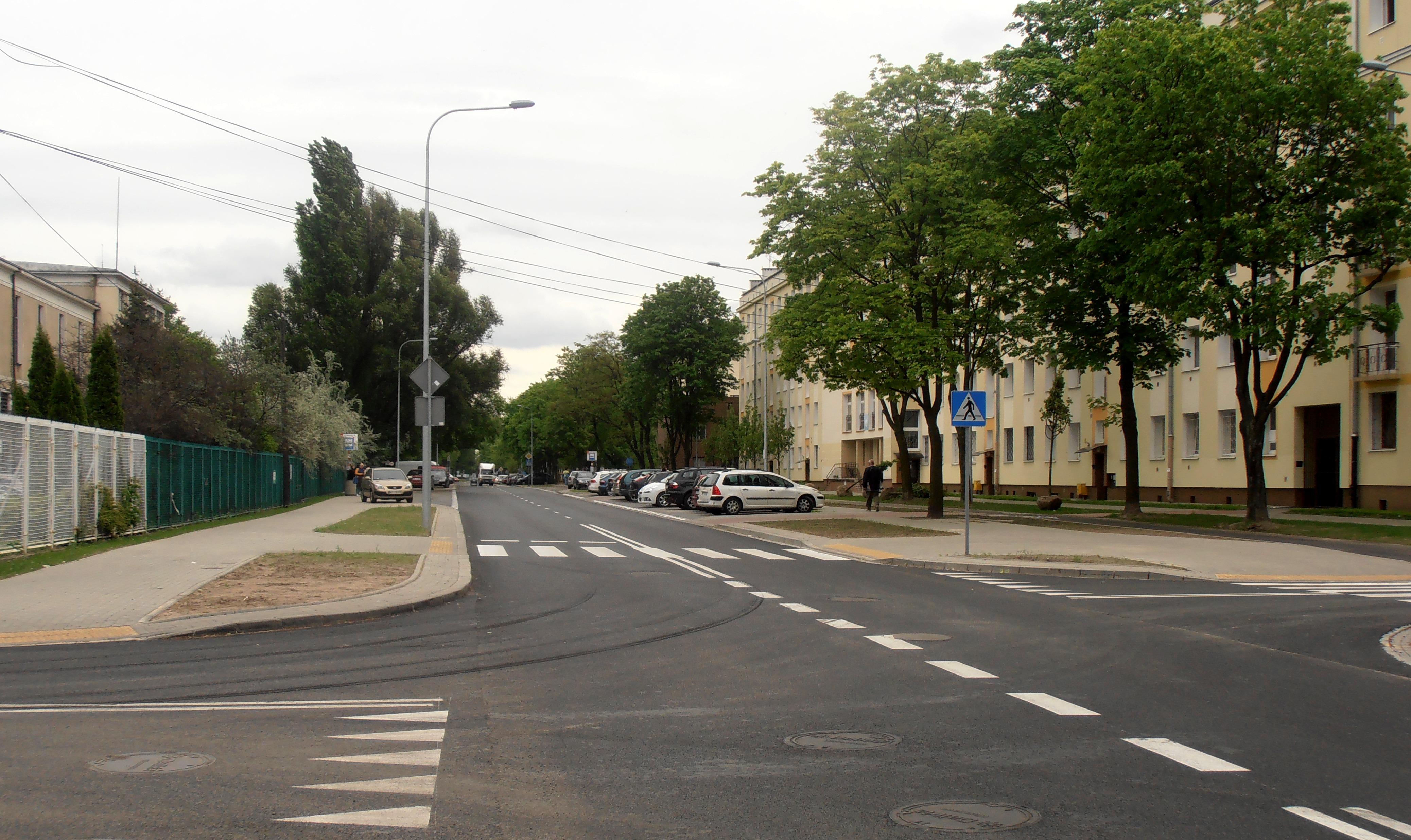 Ulica Chrzanowskiego
