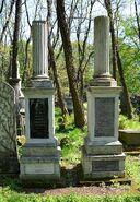 Grób Samuela Orgelbranda Cmentarz Żydowski na Woli