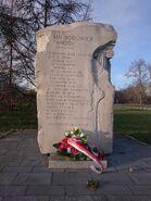 Kamień upamiętniający Jana Rodowicza