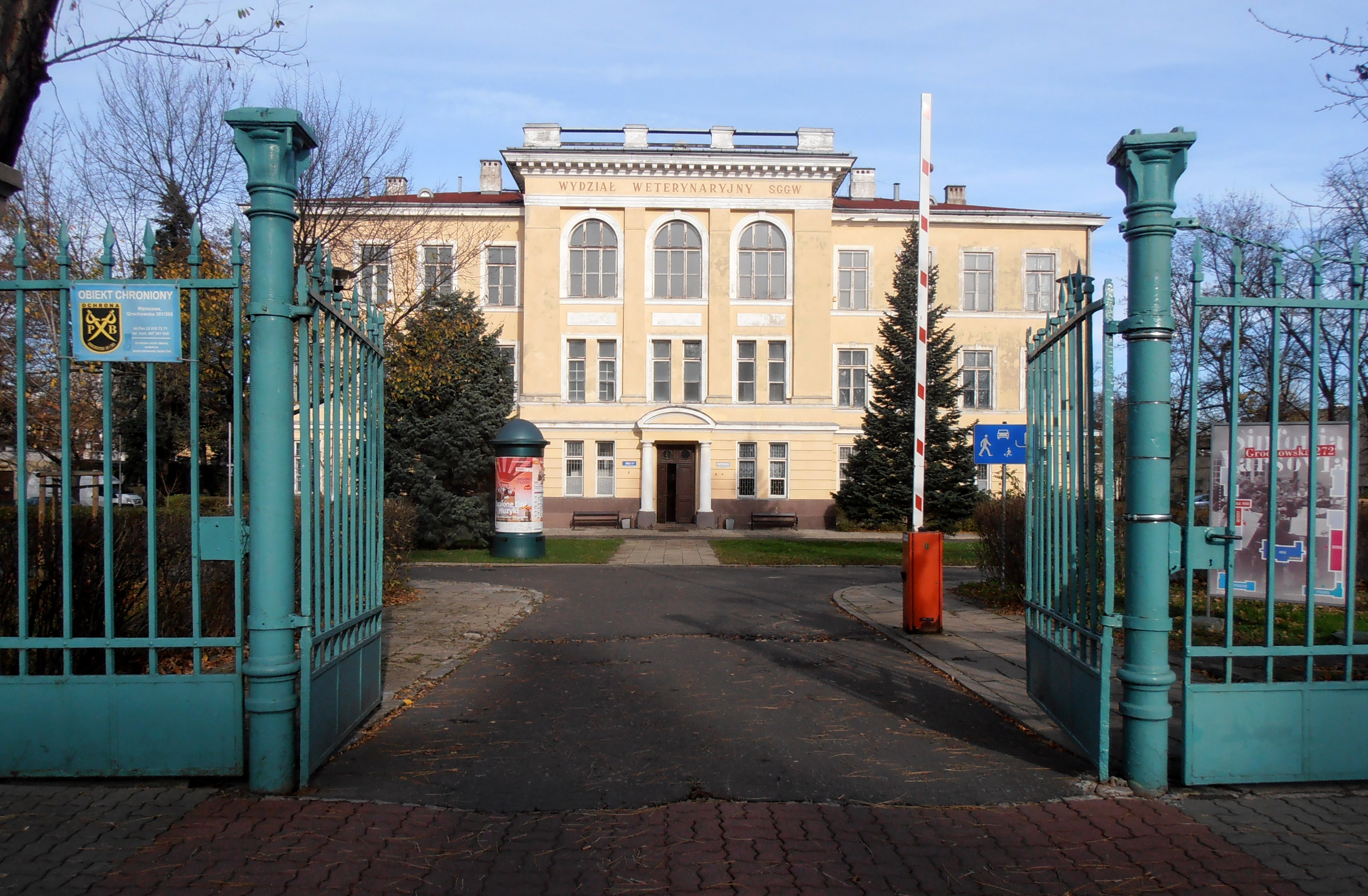 Gmach Instytutu Weterynarii