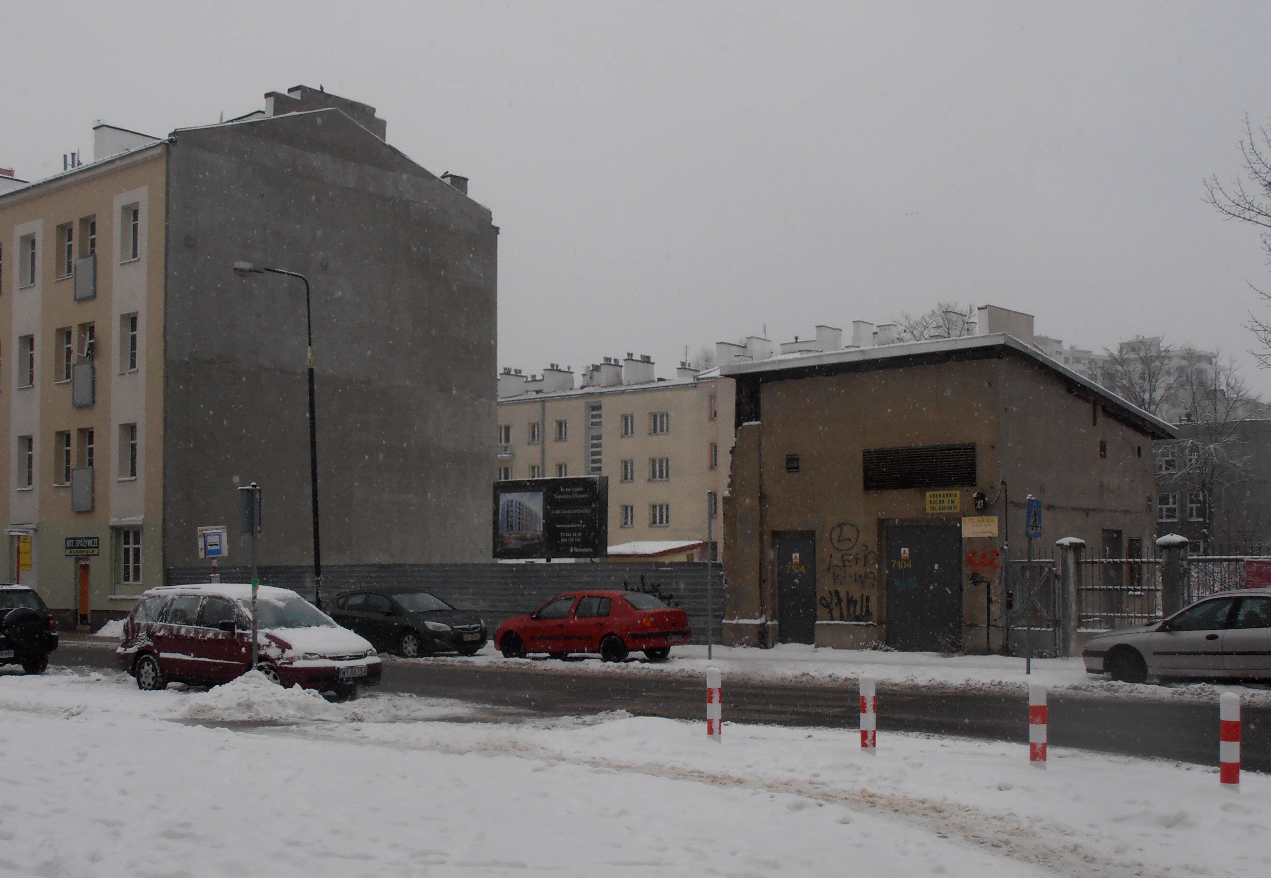 Zabudowania Warszawskiej Fabryki Mebli Stylowych