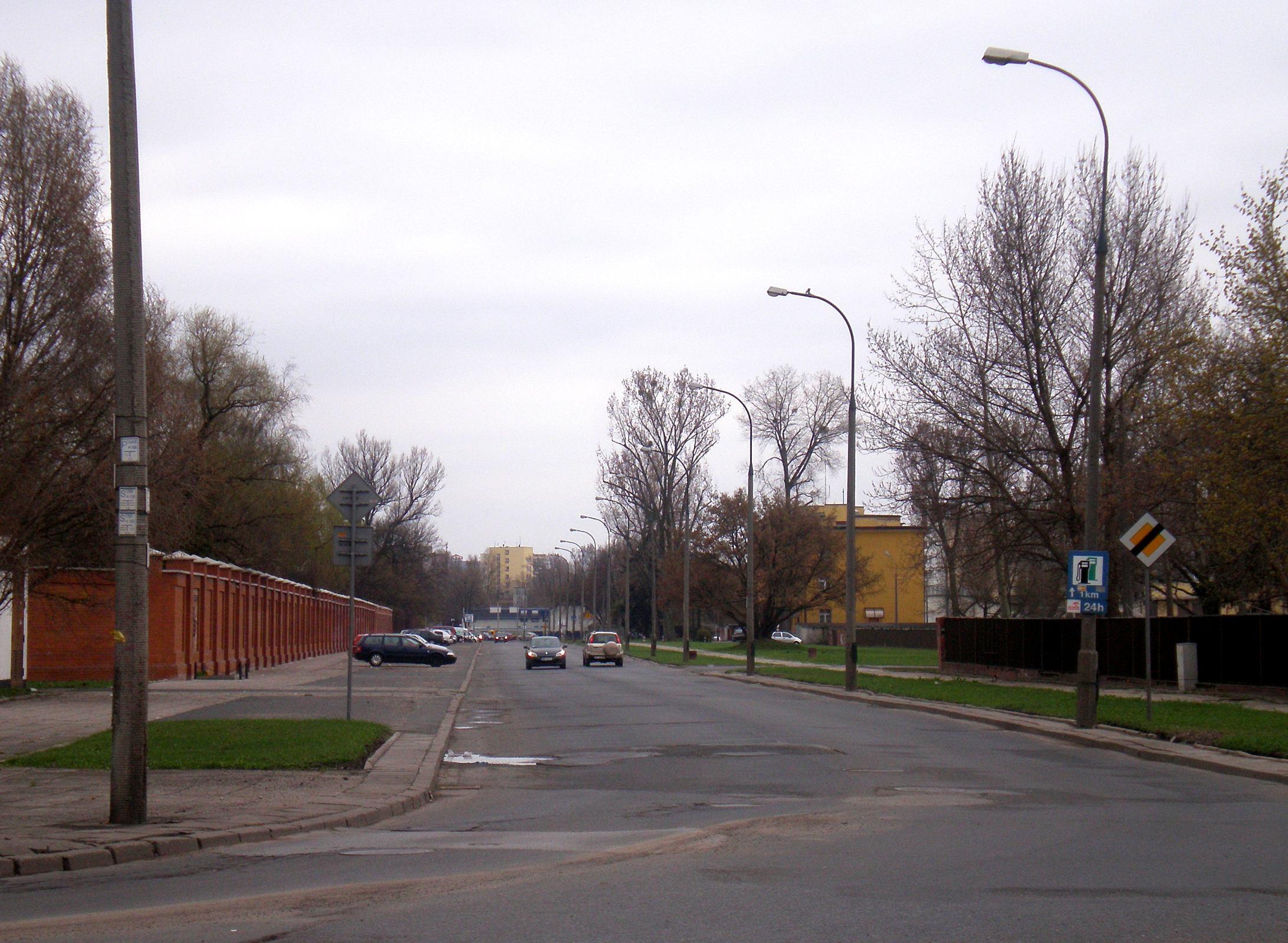 Ulica Ostroroga