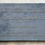 Tablica Wojciech Rubinowicz ul. Hoża 74.JPG