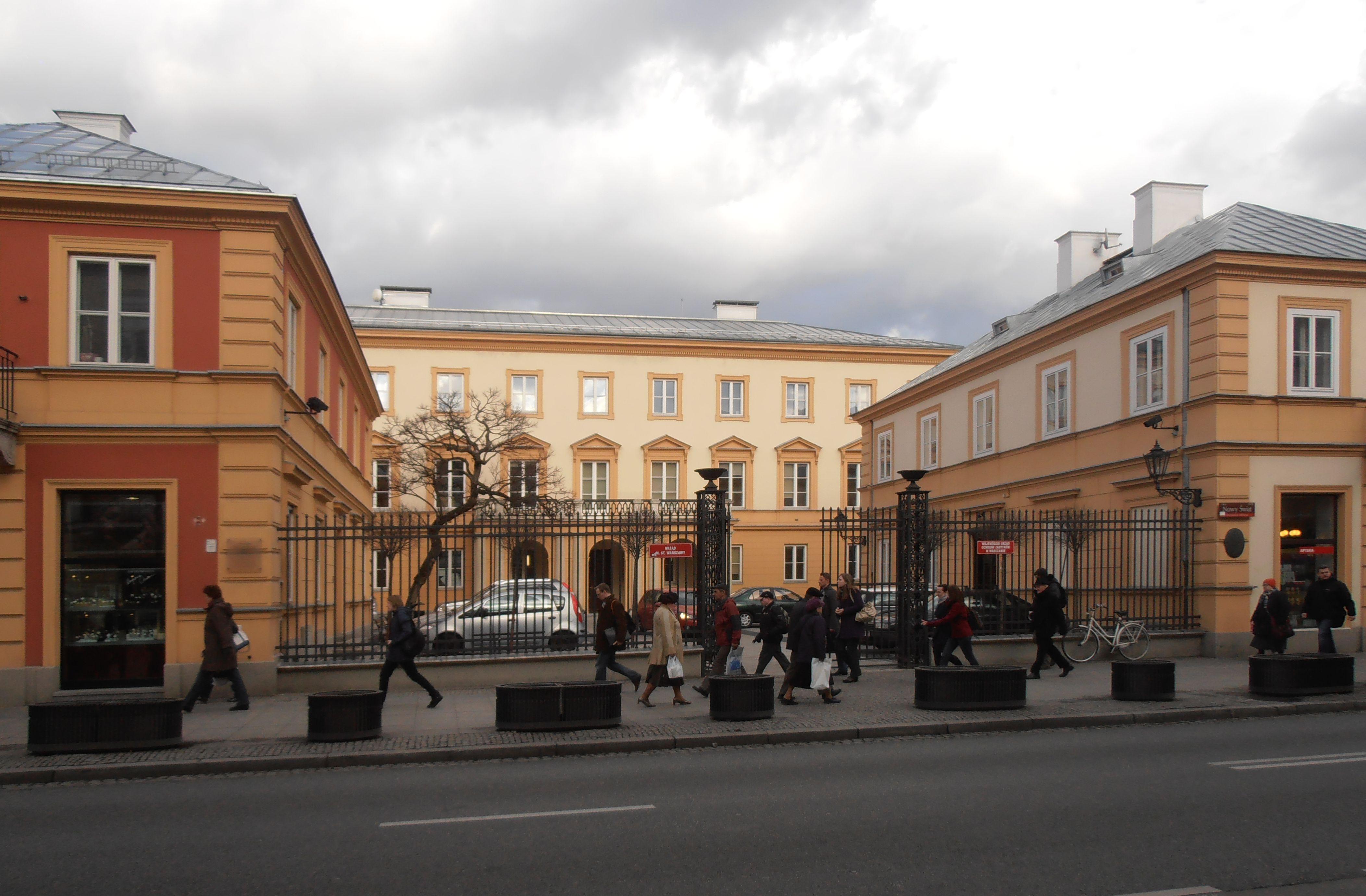 Pałac Branickich na Nowym Świecie