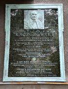 Tablica Ryszarda Kaczorowskiego al. Niepodległości 163