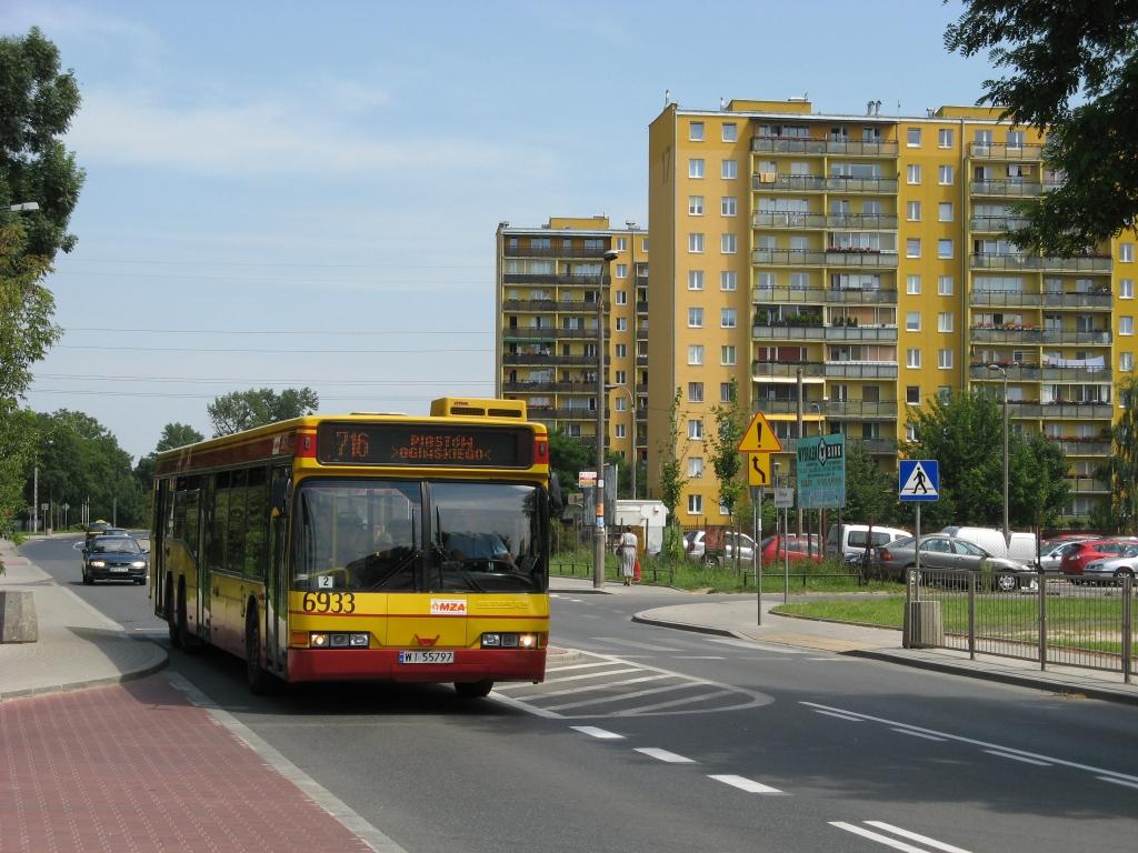 Ulica Warszawska w Ursusie