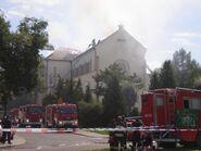 Kościół Chrystusa Króla (pożar 2)