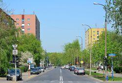 Ulica Smocza na wysokości ul. Anielewicza.JPG