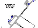 Zespół przystankowy Cmentarz Północny-Brama Główna