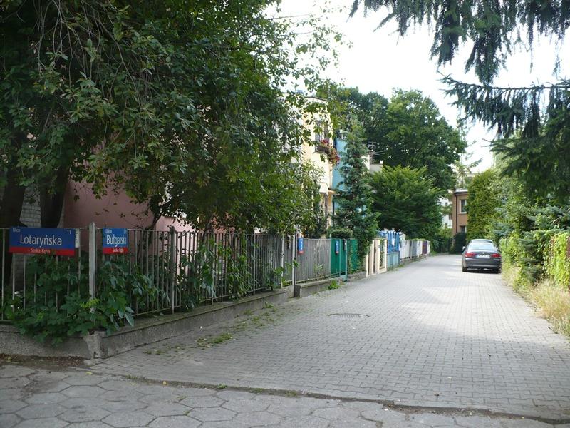 Ulica Bułgarska