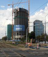 Warsaw Spire, budowa
