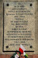 Tablica Witold Pilecki al. Wojska Polskiego 40