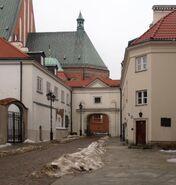 Plac Zamkowy, Kanonia, Katedra św. Jana