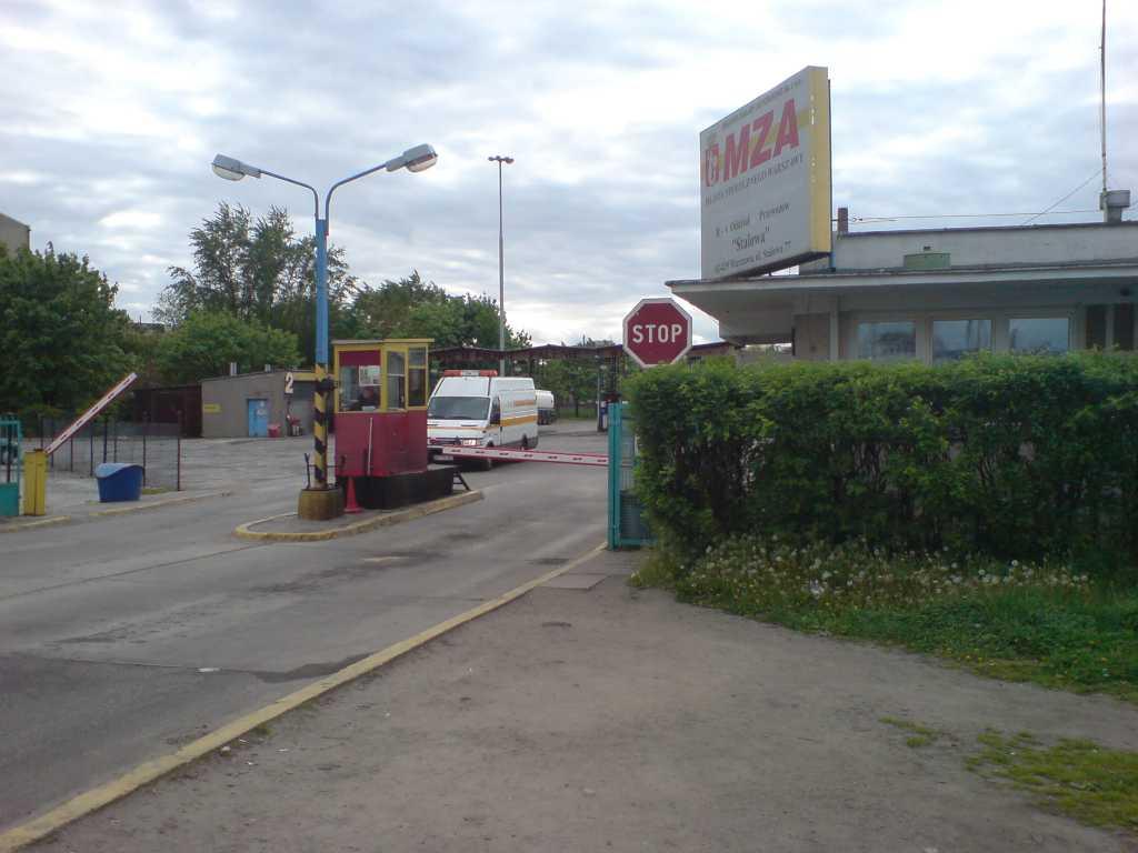 Zajezdnia autobusowa Stalowa