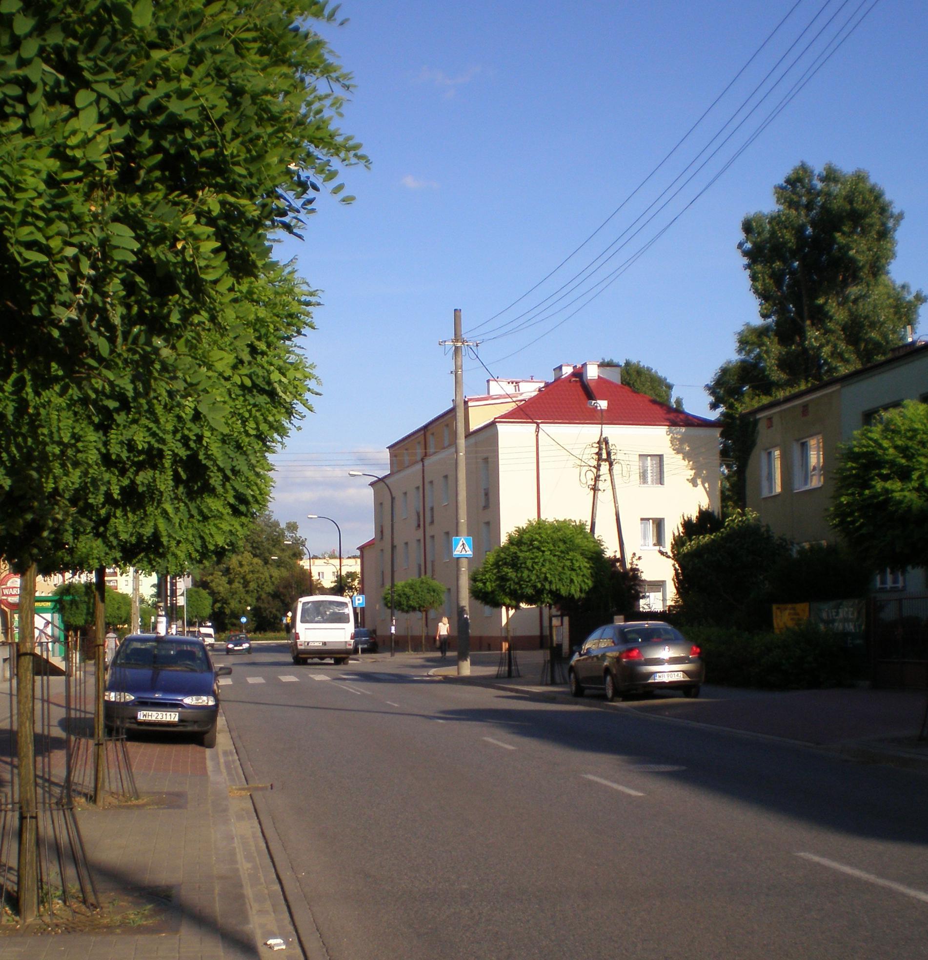 Ulica Bohaterów Warszawy