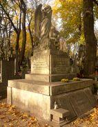 Cmentarz Powązkowski (nagrobek G. Dąbrowskiego)
