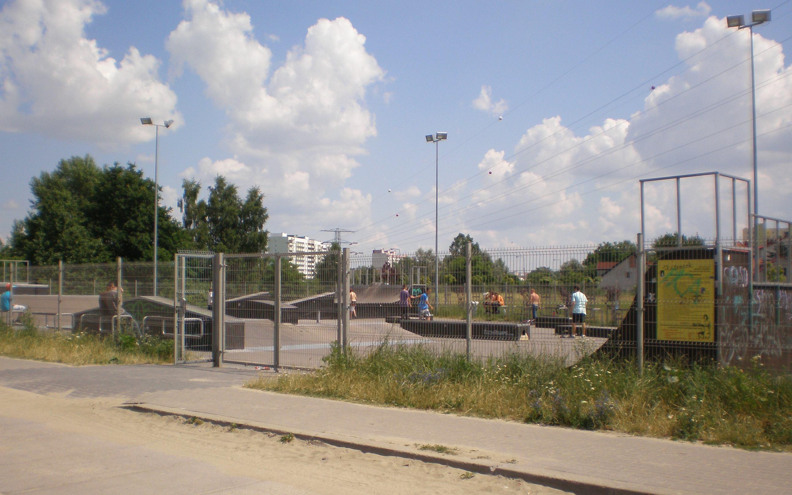 Skatepark na Nowodworach