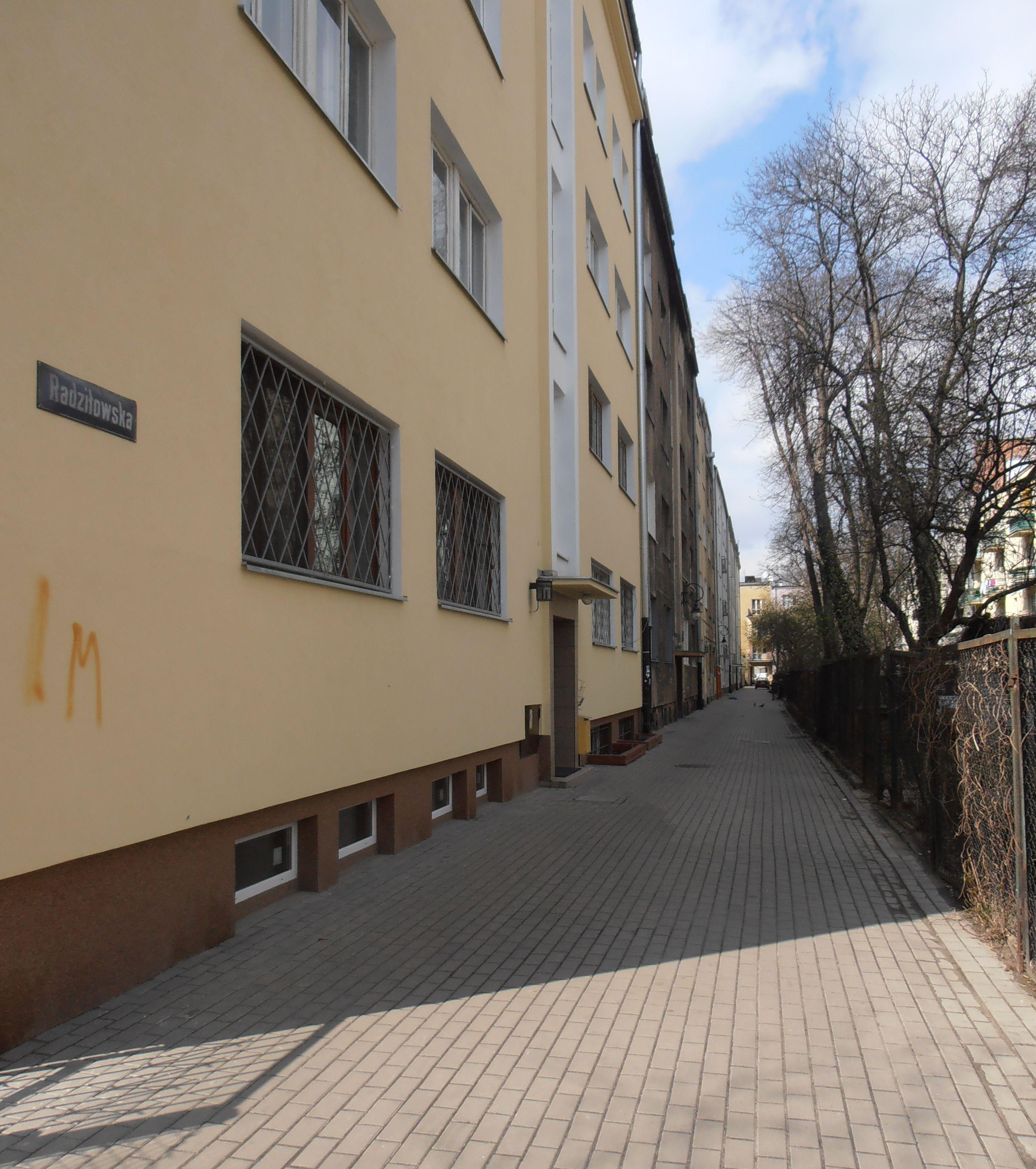 Ulica Radziłowska