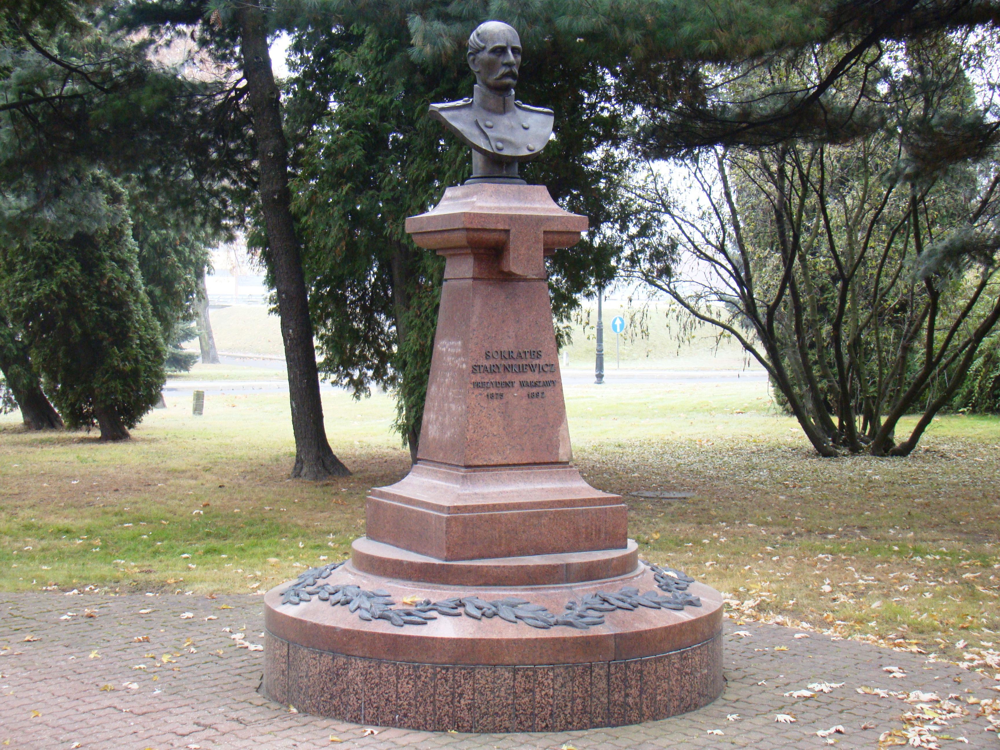Popiersie Sokratesa Starynkiewicza