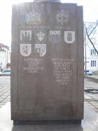 Pomnik 1 Dywizji Pancernej (strona północna)
