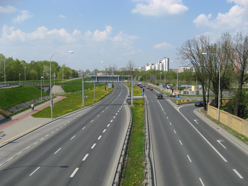 Ulica Wał Miedzeszyński