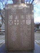 Pomnik 1 Dywizji Pancernej (strona południowa)