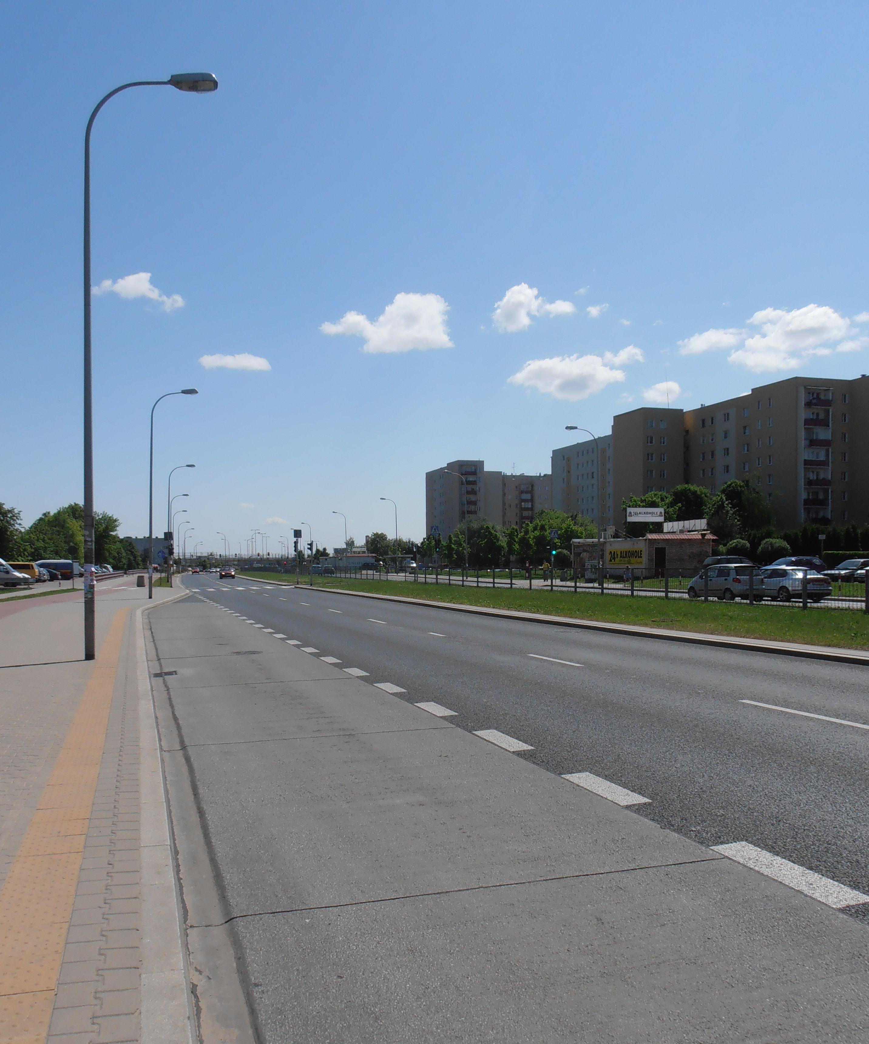 Ulica Bora-Komorowskiego