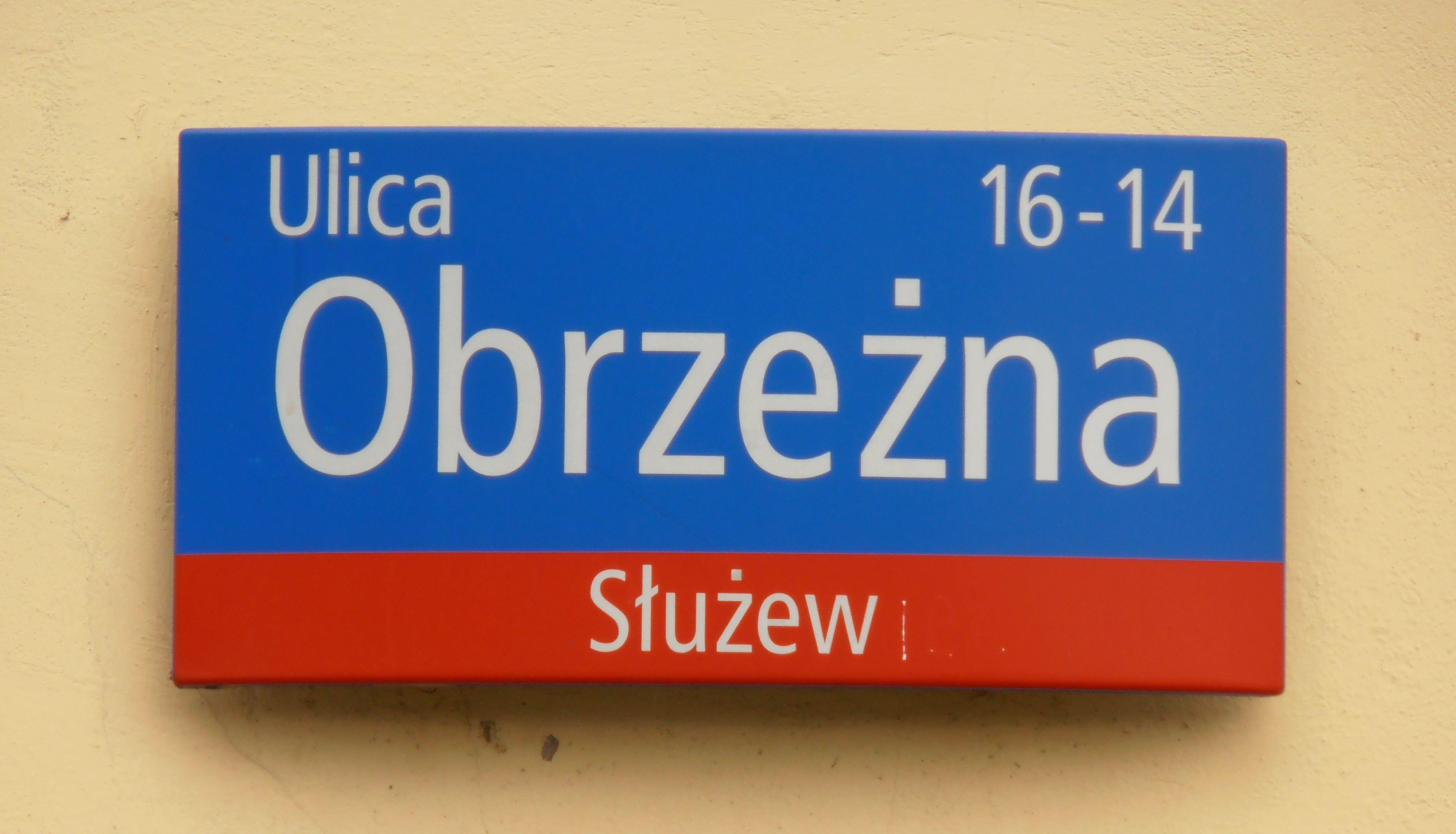 Kwestia nazwy ulicy Obrzeżnej