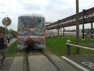 Zafoliowany pociąg STP