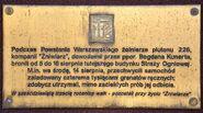 Tablica Żniwiarz SGSP