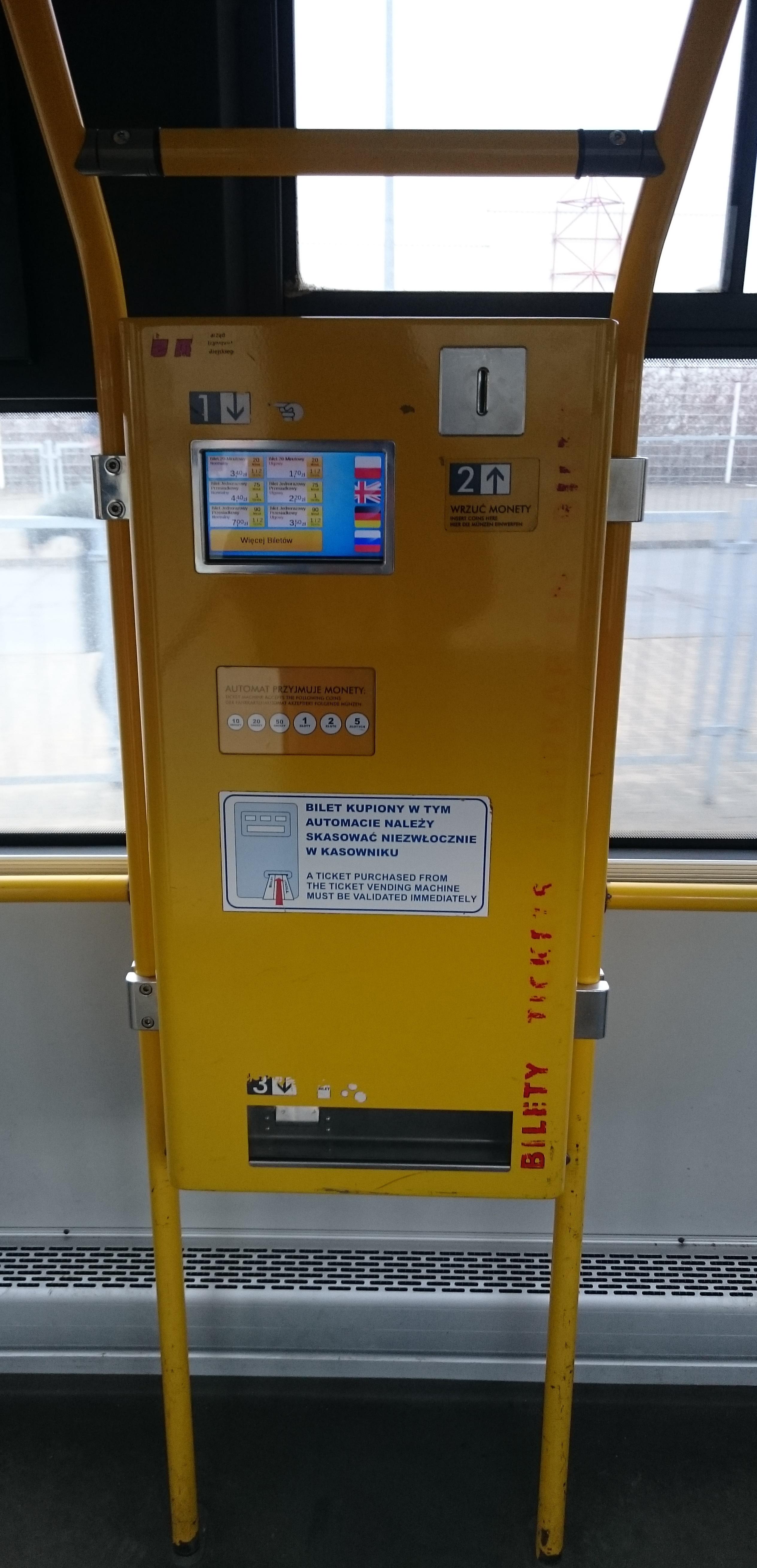 Automaty biletowe