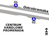 Zespół przystankowy CH Promenada