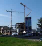 Warsaw Spire budowa
