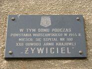 Cieszkowskiego-tablica
