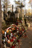 Cmentarz Powązkowski (nagrobek J.Nowaka-Jeziorańskiego)