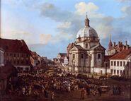Rynek Nowego Miasta Canaletto
