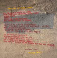 Jeziorańskiego (wiersz na wiadukcie)